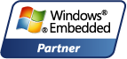Microsoft® Windows® Embedded Partner logo