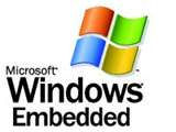 Microsoft® Windows® Embedded Partner logo. This is a link to the Microsoft® Windows® Embedded web site (opens a new browser window)
